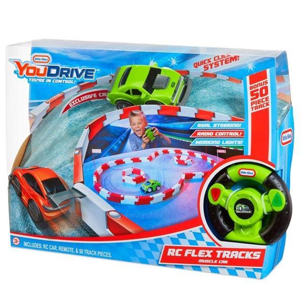 YouDrive Flex Tracks - Zielony Muscle Car