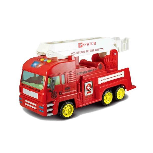 Auto z napędem frykcyjnym Straż Pożarna