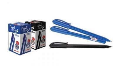 Długopis Flexi Trio Jet niebieski (50szt) PENMATE
