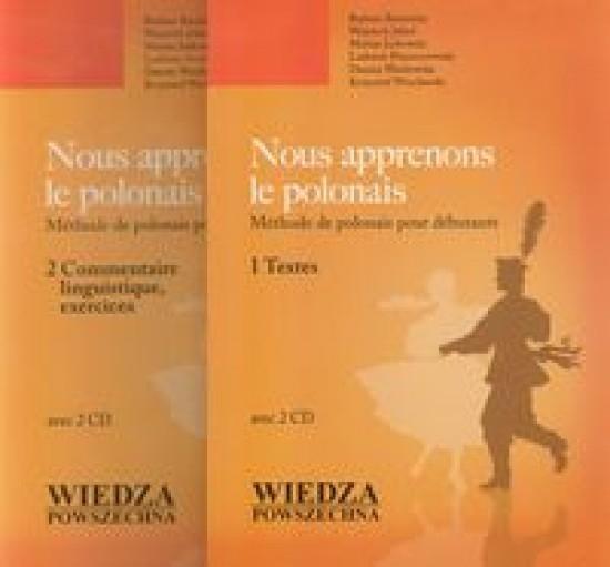 Nous apprenons le polonais +2CD