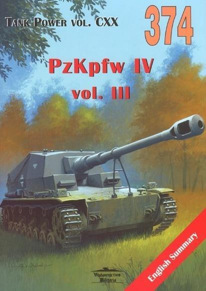 PzKpfw IV vol. III. Tank Power vol. CXX 374