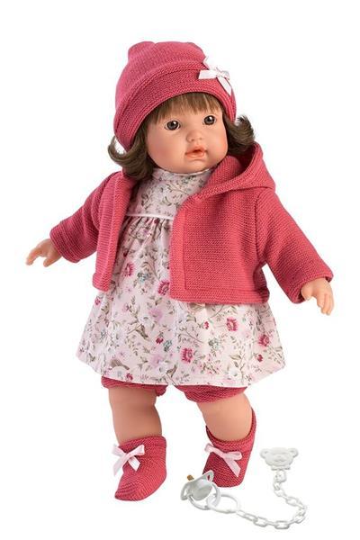 Lalka 33330 Aysel płacząca różowa brunetka 33cm