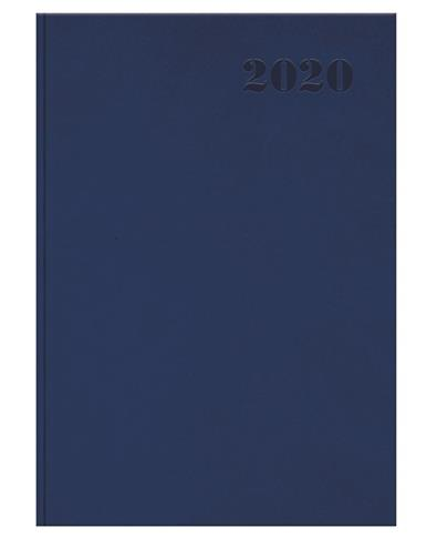Kalendarz 2020 książkowy A5 Standard granatowy OXF
