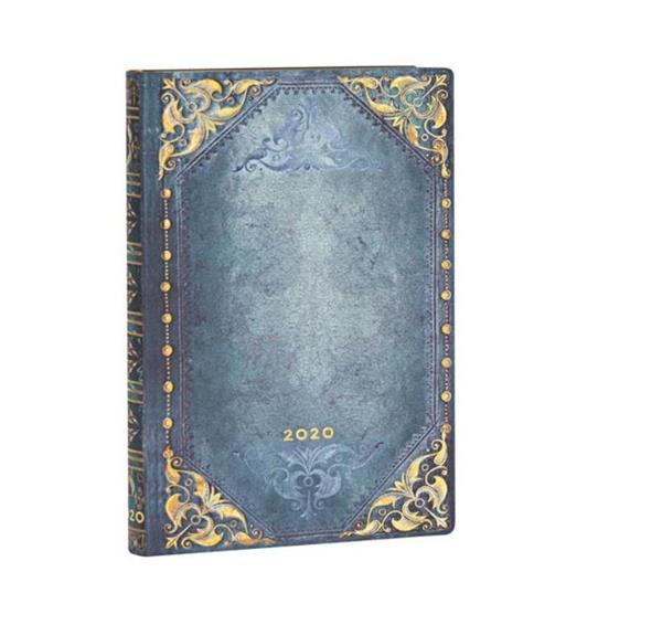 Kalendarz książkowy mini 2020 12M hor. Peacock
