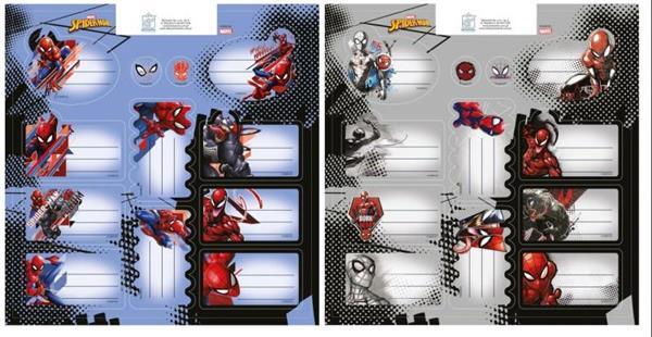 Naklejki na zeszyty Spiderman