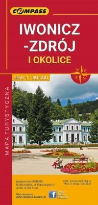 Mapa turystyczna - Iwonicz- Zdrój/Rymanów-Zdrój