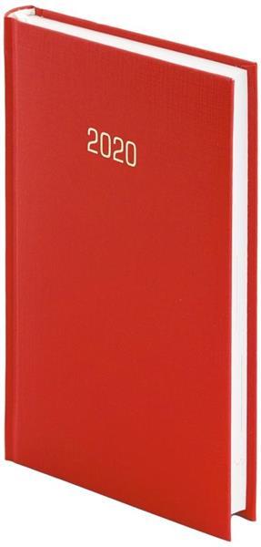 Kalendarz 2020 A6 Tygodniowy Albit Czerwony
