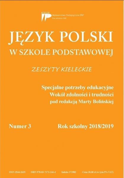 Język polski w szkole podstawowej nr 3 2018/2019