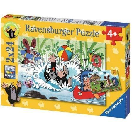 Puzzle 2x24 Krecik i przyjaciele