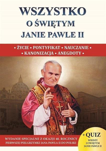 Wszystko o świętym Janie Pawle II XXS