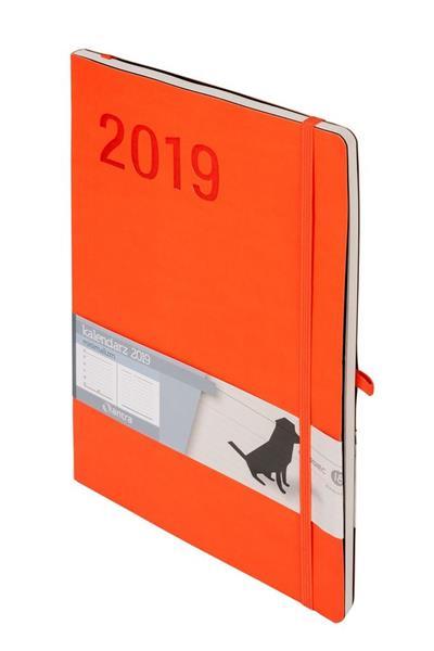 Kalendarz 2019 Minimalizm B5 Pomarańcz TNS ANTRA