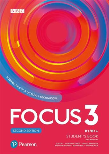 Focus 3 2ed. SB B1/B1+ Digital Resources PEARSON