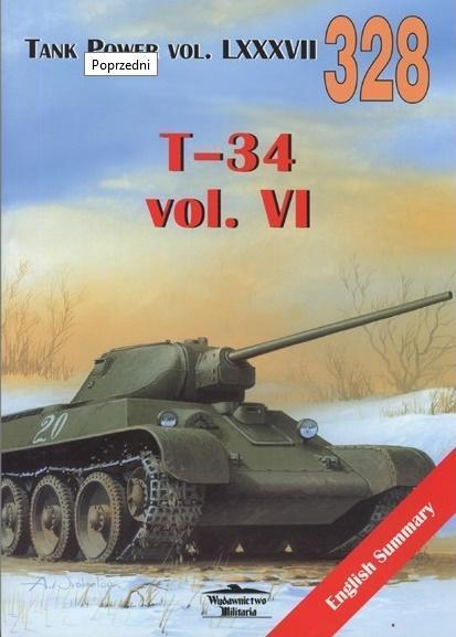 T-34 vol. VI. Tank Power vol. LXXXVII 328