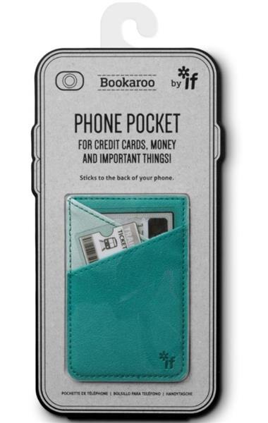 Bookaroo Phone Pocket Portfel na telefon turkusowy