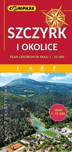 Mapa turystyczna - Szczyrk i okolice 1:25 000