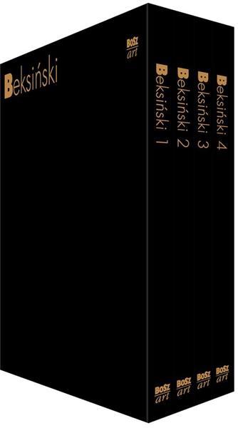 Beksiński T.1- 4 w.2019 w etui
