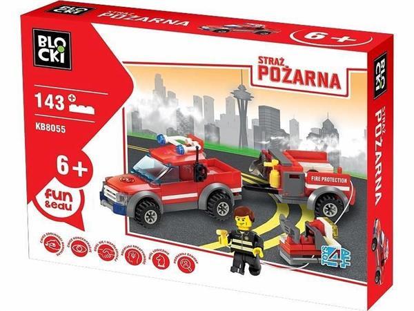 Klocki Blocki Straż Pożarna Samochód gaśniczy