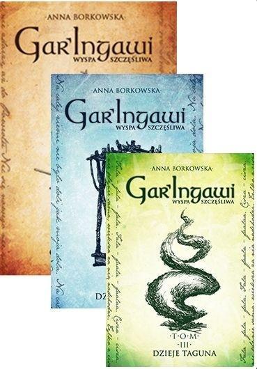 Pakiet: Gar'Ingawi Wyspa Szczęśliwa T.1-3