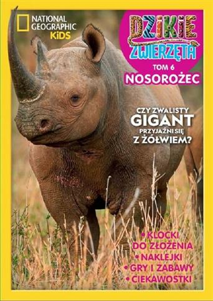 Dzikie Zwierzęta T.6 Nosorożec