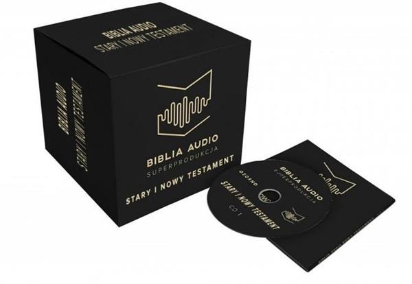 Biblia Audio Superprodukcja ST i NT. Audiobook