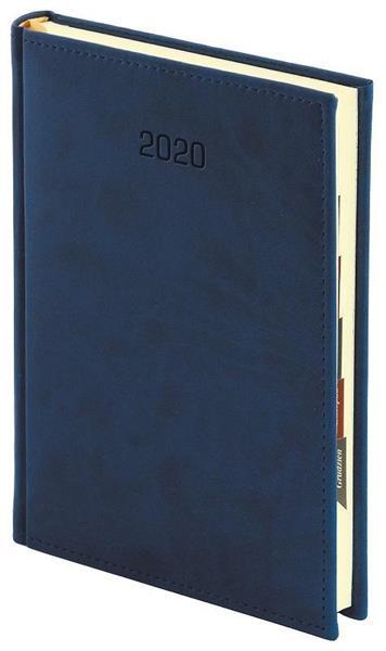 Kalendarz 2020 A4 Tygodniowy Vivella Granat