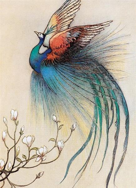 Karnet B6 z kopertą The Fire Bird