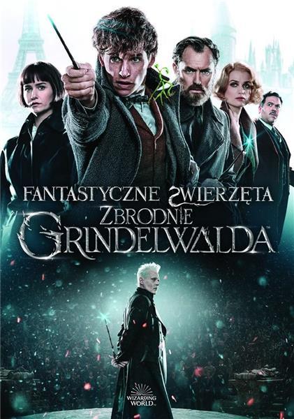 Fantastyczne zwierzęta. Zbrodnie Grindelwalda DVD
