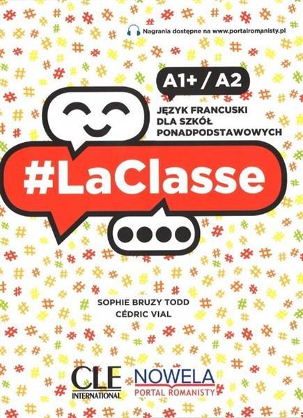 LaClasse A1+/A2 Podręcznik CLE