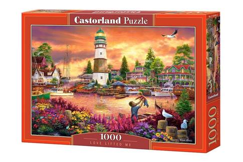 Puzzle 1000 Love Lifted Me CASTOR