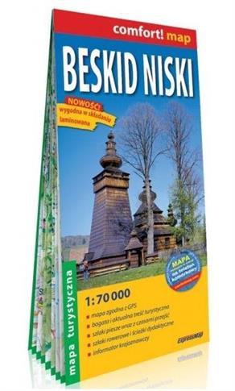 Comfort! map Beskid Niski 1:70 000 mapa tur.