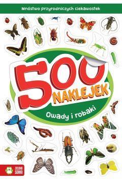 500 naklejek. Potrawy z czterech stron świata