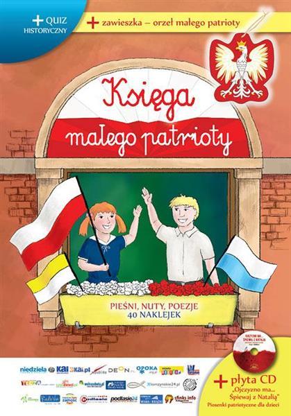 Księga Małego Patrioty S Ilustracje Okno + 1 CD