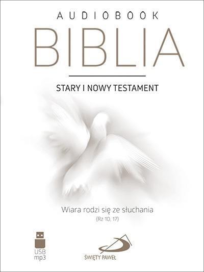 Biblia ST i NT audiobook USB MP3