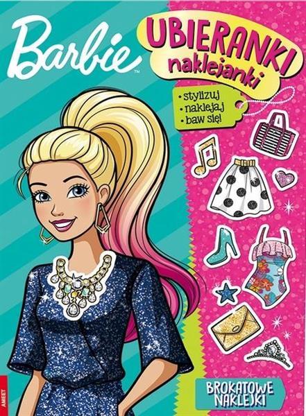 Barbie. Ubieranki, naklejanki