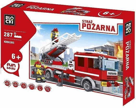 Klocki Blocki Straż Pożarna Wóz z drabiną