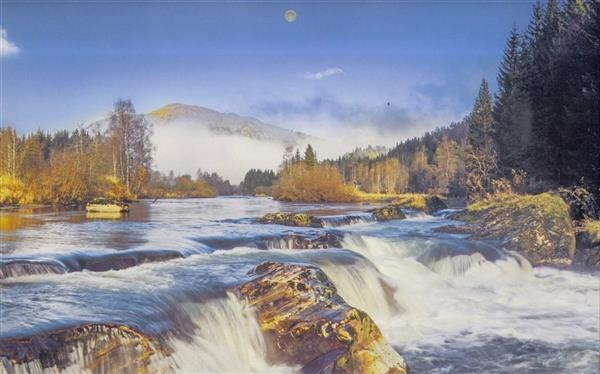 Kalendarz 2020 Trójdzielny Górska rzeka ANIEW