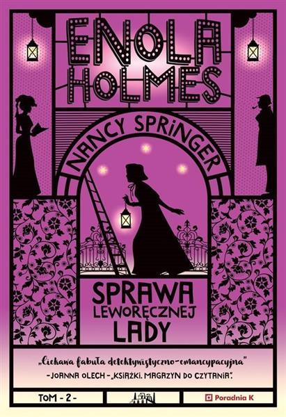 Enola Holmes T.2 Sprawa leworęcznej lady