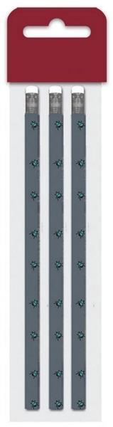 Ołówek drewniany Fashion muchy bls 3szt