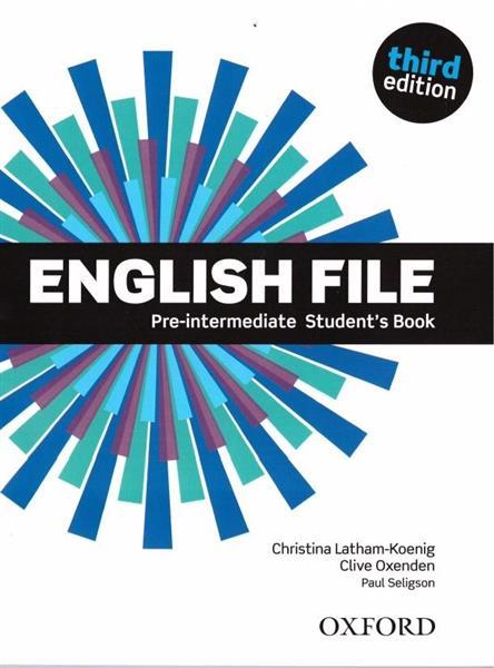 English File 3E Pre-Intermediate SB OXFORD
