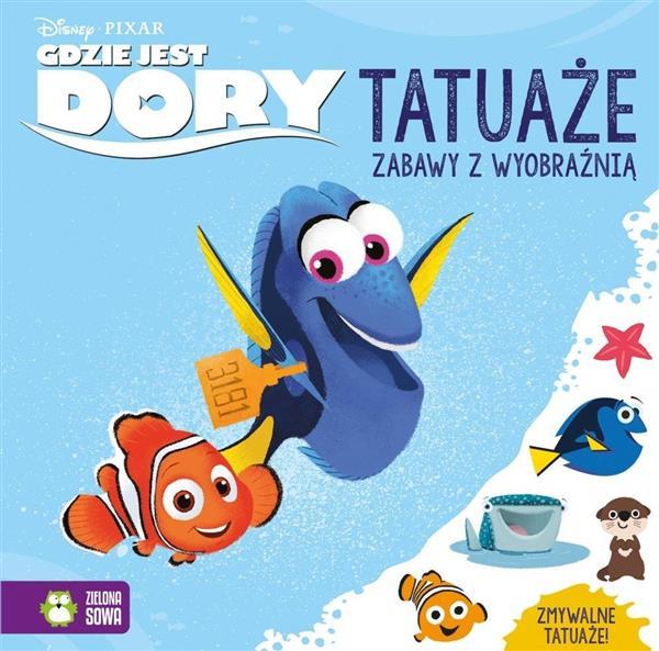 Gdzie jest Dory. Tatuaże. Disney OUTLET