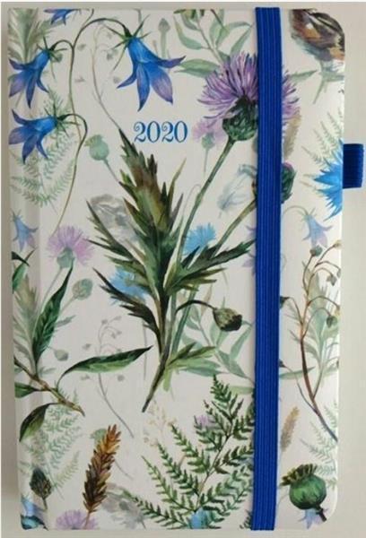 Kalendarz kieszonkowy tygodniowy 2020 Kwiaty ALBI