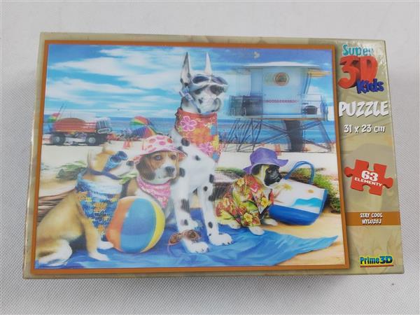 Puzzle super 3d kids