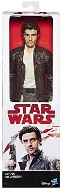 Hasbro Star Wars E8 - Figurka 30 cm Kapitan Poe Da