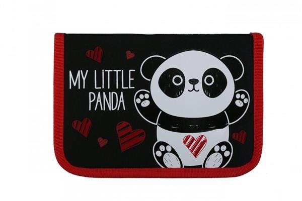 Piórnik dwuklapkowy bez wyposażenia Bambino- Panda