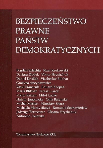 Bezpieczeństwo prawne państw demokratycznych