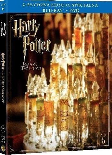 Harry Potter i Książę Półkrwi (Blu-ray+DVD)