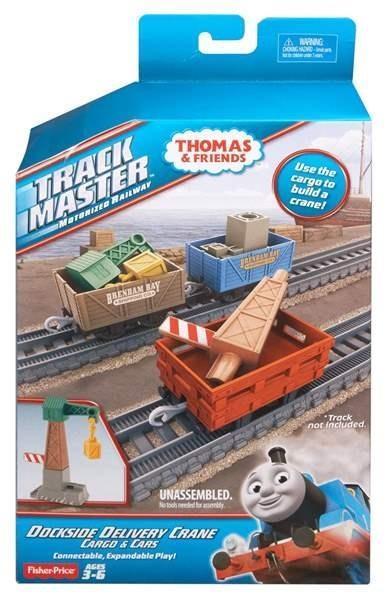 Tomek i przyjaciele 3 wagony + dźwig