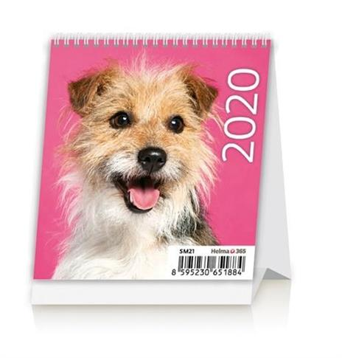 Kalendarz 20202 Biurkowy Mini Pieski NARCISSUS