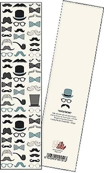 Zakładka do książki Moustache opakowanie 2 sztuki