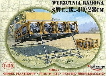 Wyrzutnia Ramowa sWu.R. 40/28cm Niemiecka